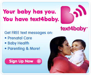 text4baby banner